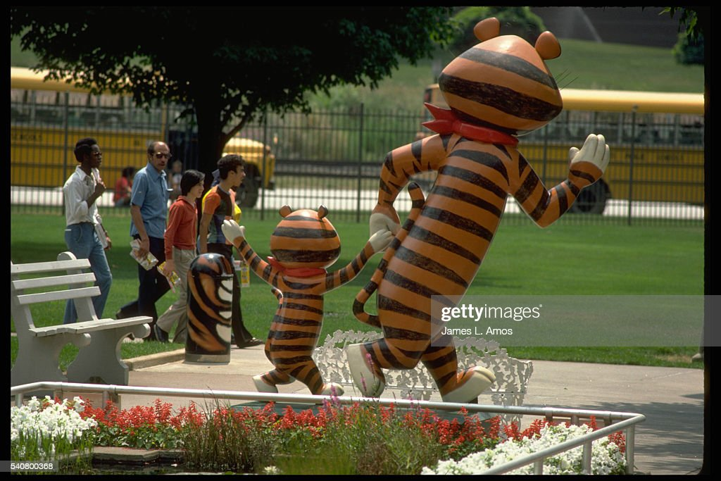 Tony The Tiger Statue Pictures Getty Images - Michigan location in usa