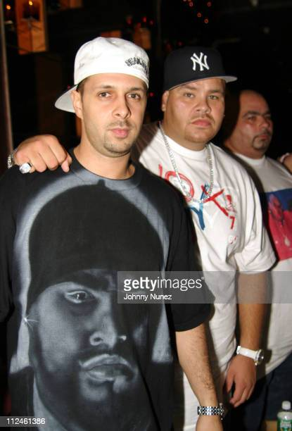 Tony Touch and Fat Joe during Terror Squads Celebrates the Release of their New Album 'True Story' at Club Deep in New York City New York United...