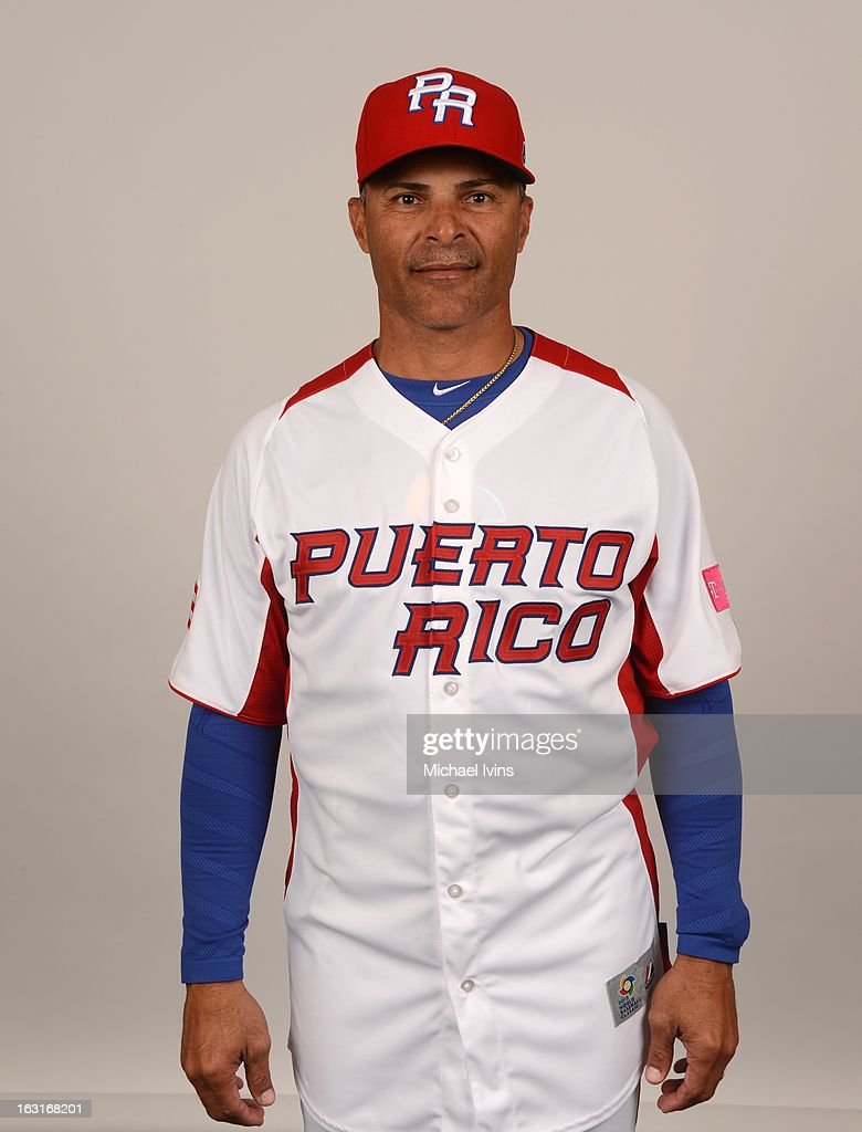 Tony Valentin #2 of Team Puerto Rico poses for a headshot for the 2013 World Baseball Classic at the City of Palms Baseball Complex on Monday, March 4, 2013 in Fort Myers, Florida.