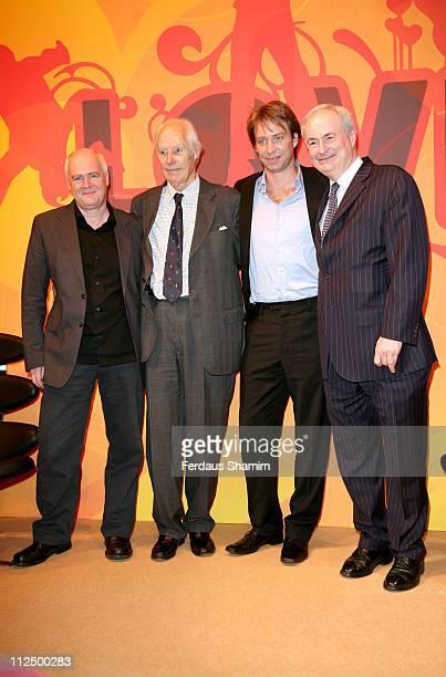 Tony Wadsworth Sir George Martin Giles Martin and Paul Gambaccini