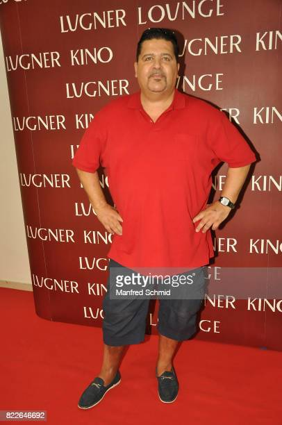 Tony Wegas poses during the 'Wish Upon' premiere in Vienna at Lugner Lounge Kino on July 25 2017 in Vienna Austria