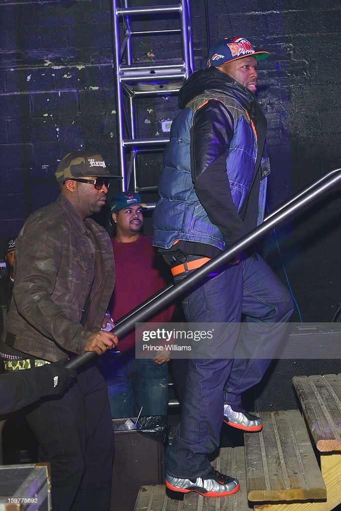 Tony Yayo and 50 Cent attend AG Entertainment Presents Jeezy Inauguration Weekend on January 20, 2013 in Washington, United States.