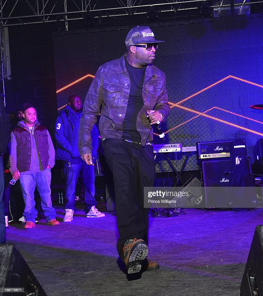 Tony Yayo performs at the AG Entertainment Presents Jeezy Inauguration Weekend on January 20, 2013 in Washington, United States.