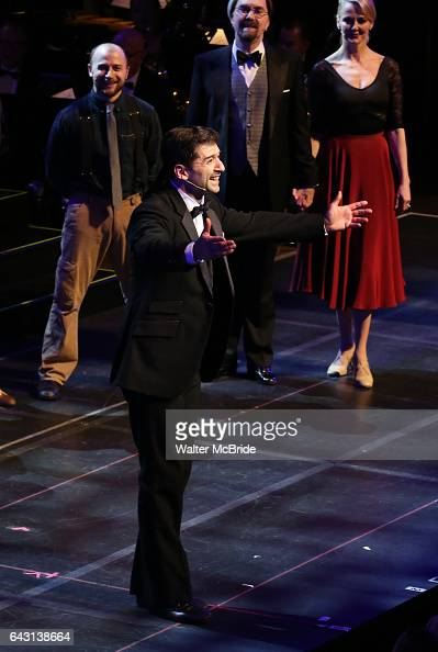 Tony Yazbeck during the Manhattan Concert Productions 25th Anniversary concert performance of 'Crazy for You' at David Geffen Hall Lincoln Center on...