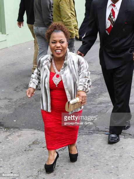 Tonya Banks is seen on February 26 2017 in Los Angeles California