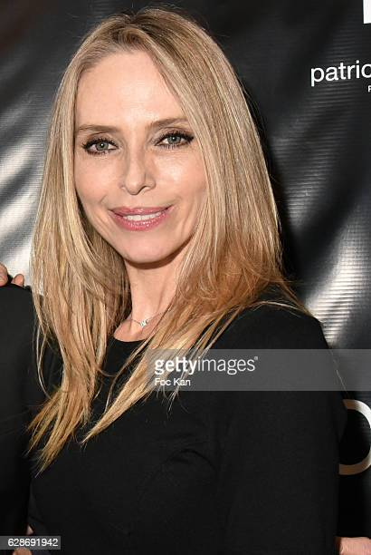 Tonya Kinzinger attends Patrick Boffa 2017 Collection Fashion Show at Plaza Athenee on December 8 2016 in Paris France
