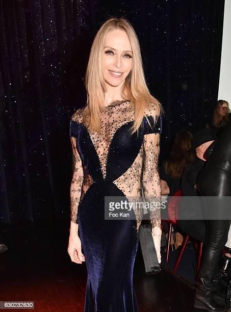 Tonya Kinzinger attends the 'Top Model Belgium 2017' Ceremony at Le Lido on December 18 2016 in Paris France