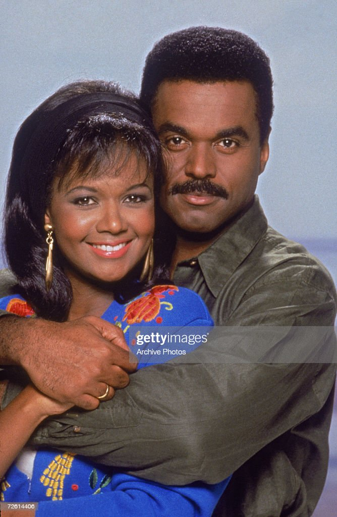 Tonya Lee Williams and Randy Brooks star in the long-running American TV soap 'The Young and the Restless', circa 1993.