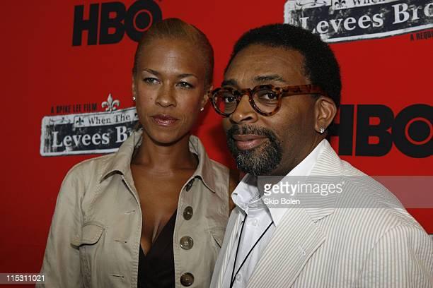 Tonya Lewis Lee along with her husband filmmaker Spike Lee