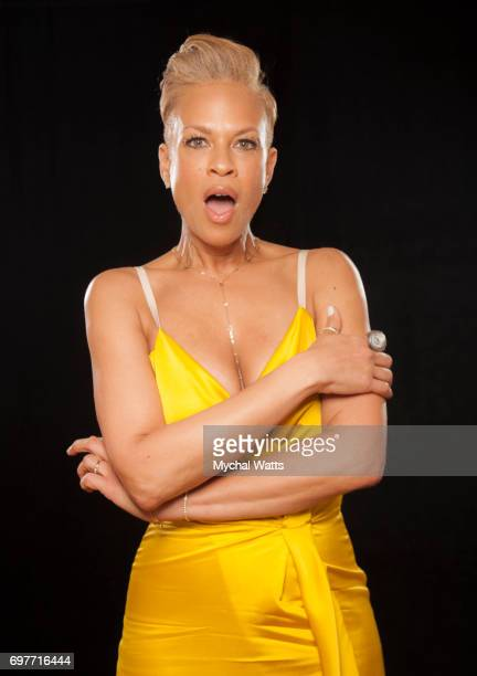 Tonya Lewis Lee Poses for a Portrait on Day 3 of the American Black Film Festival on June 14 2017 in Miami Florida