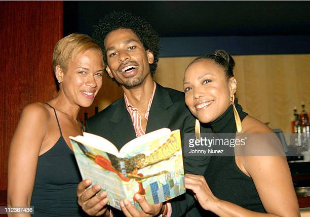 Tonya Lewis Lee Toure and Lynn Whitfield during 'Soul City' Book Launch at Lotus in New York City New York United States