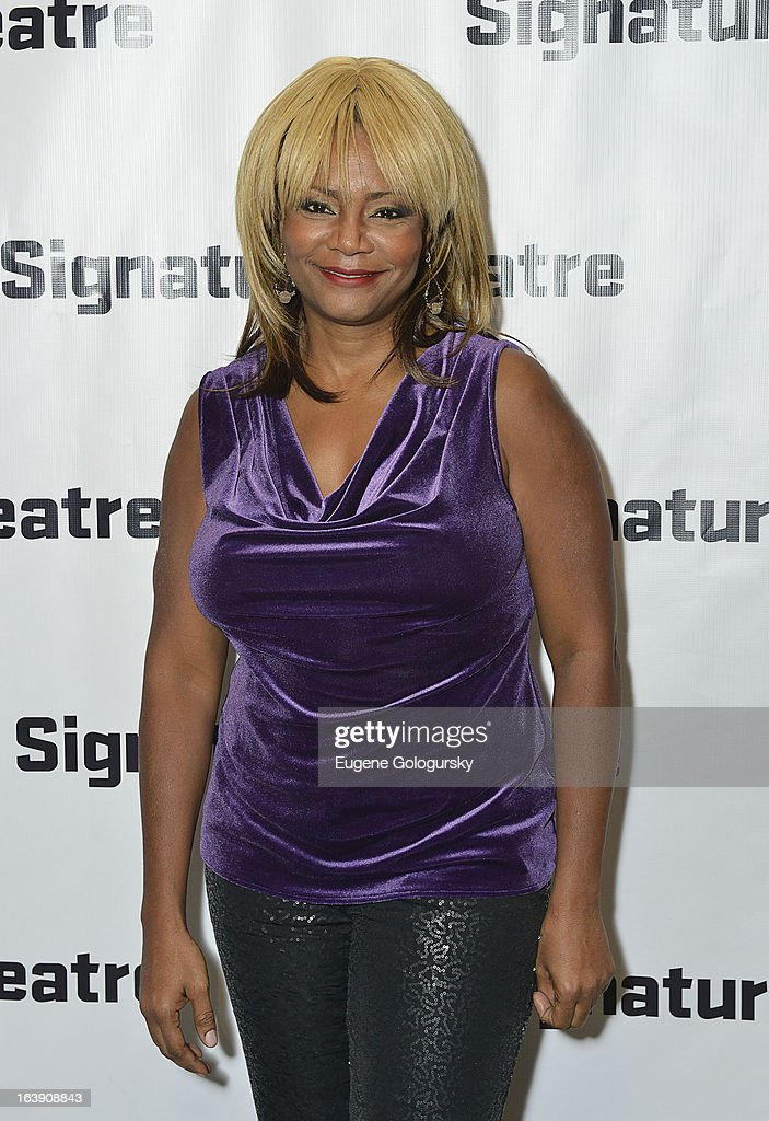 Tonya Pinkins attends 'The Mound Builders' Opening Night Party at Signature Theatre Company's The Pershing Square Signature Center on March 17, 2013 in New York City.