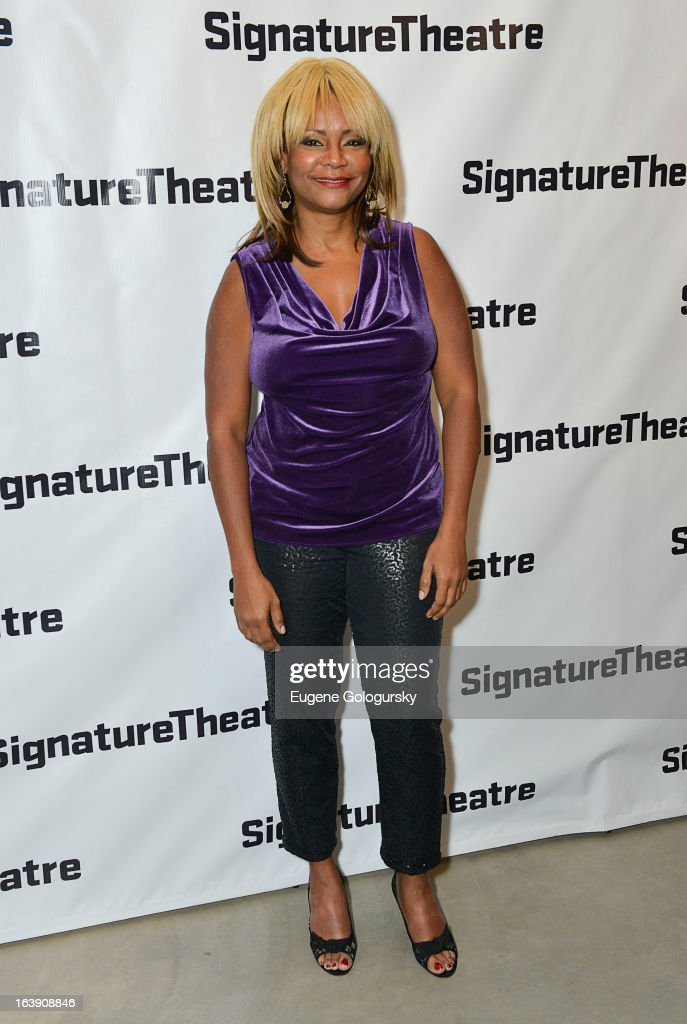 <a gi-track='captionPersonalityLinkClicked' href=/galleries/search?phrase=Tonya+Pinkins&family=editorial&specificpeople=220801 ng-click='$event.stopPropagation()'>Tonya Pinkins</a> attends 'The Mound Builders' Opening Night Party at Signature Theatre Company's The Pershing Square Signature Center on March 17, 2013 in New York City.
