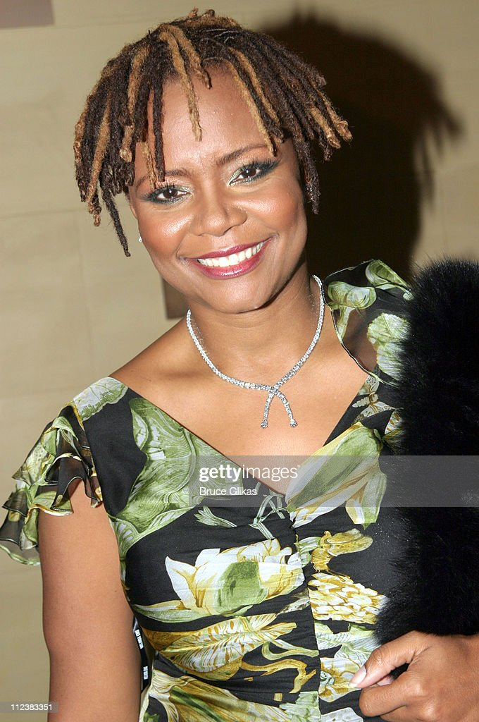 Tonya Pinkins during 'Caroline Or Change' Opening Night on Broadway - After Party at Gotham Hall in New York City, New York, United States.