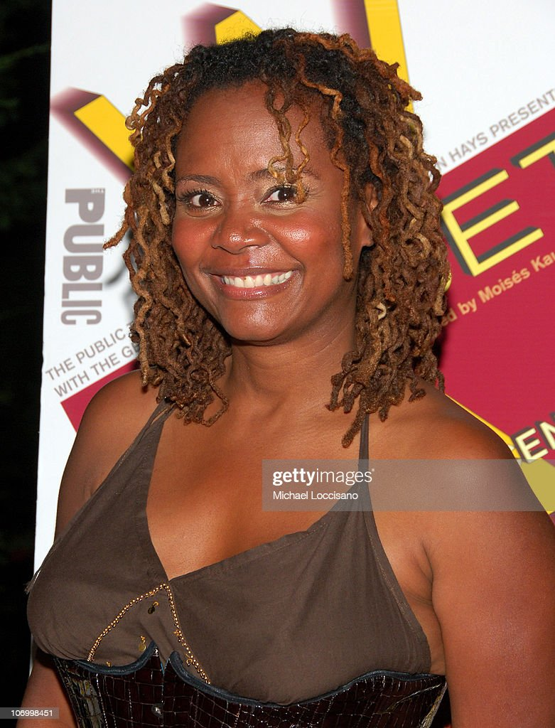 Tonya Pinkins during Shakespeare in the Park's 'Mother Courage And Her Children' Opening Night - After Party Arrivals at The Belvedere Castle - Central Park in New York City, New York, United States.