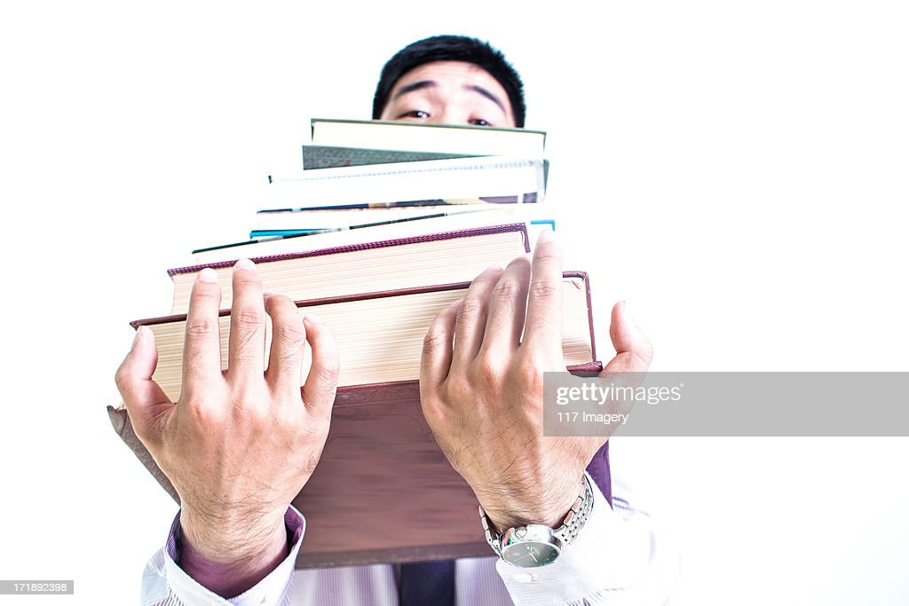 Too much work ! : Stock Photo