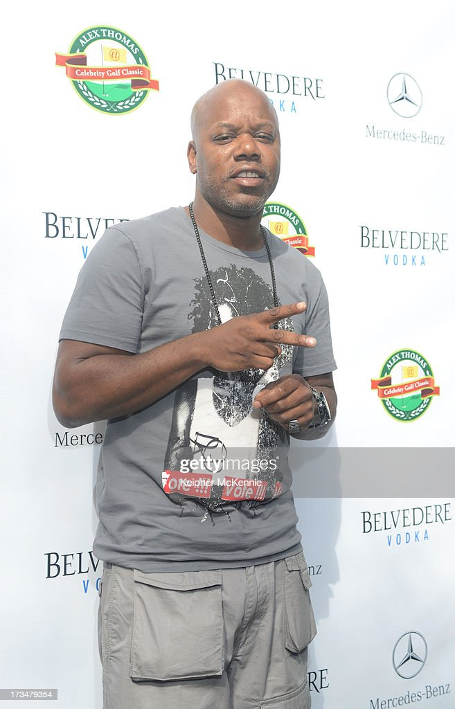 Too Short arrives to the 4th Annual Alex Thomas Celebrity Golf Weekend Pool Party hosted by NFL's Jacoby Jones of the Baltimore Ravens at Hollywood Roosevelt Hotel on July 14, 2013 in Hollywood, California.