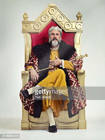 I took the throne peacefully...True Story..