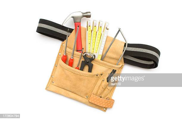 Tool Belt on white background