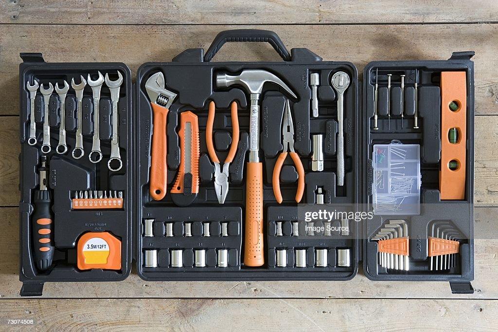 Tool box : Stock Photo