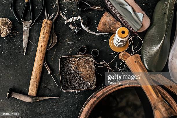 tools for hand made shoe