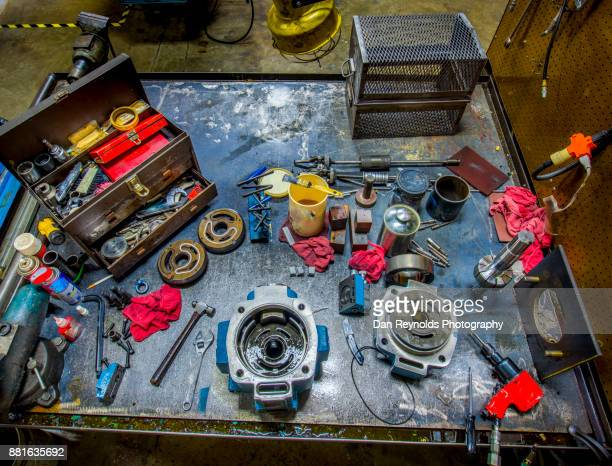 Tools on Industrial Workbench