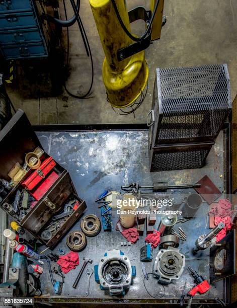Tools on Industrial Workbench - Vertical