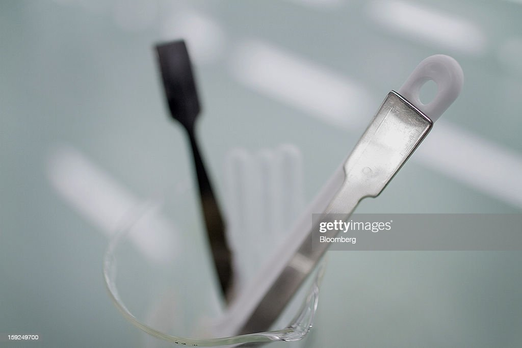 Tools used in the lab sit at L'Oreal SA's first research and innovation center in Mumbai, India, on Thursday, Jan. 10, 2013. L'Oreal SA, the world's largest cosmetics maker, today inaugurated its new Indian R&I center. Photographer: Dhiraj Singh/Bloomberg via Getty Images