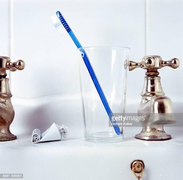 Toothbrush, Empty Toothpaste