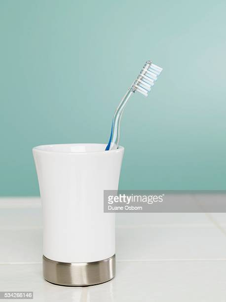 Toothbrush in a Cup