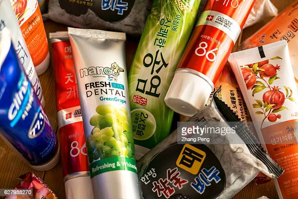 Toothpastes and soaps of South Korea's brand which are bought from Taobaocom by a Chinese customer Commercial relationship between China and South...