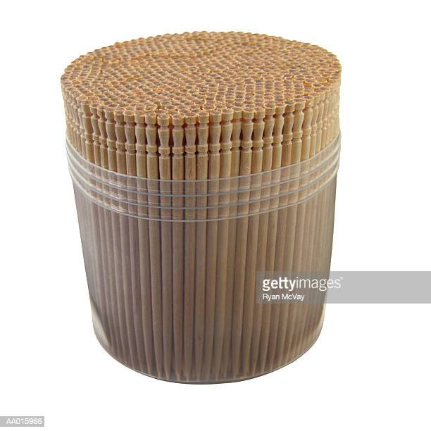 Toothpicks in a Toothpick Holder