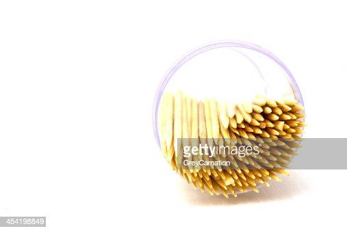 Toothpicks : Foto de stock