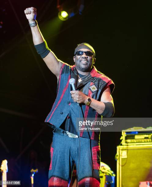 Toots Hibbert of Toots and the Maytals performs at Womad Festival at Charlton Park on July 29 2017 in Wiltshire England