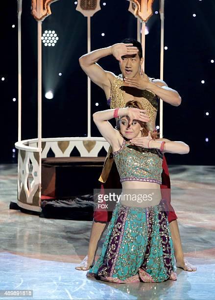 Top 10 contestant Jana JaJa Vankova and allstar Alex Wong perform a Bollywood routine choreographed by Nakul Dev Mahajan on SO YOU THINK YOU CAN...