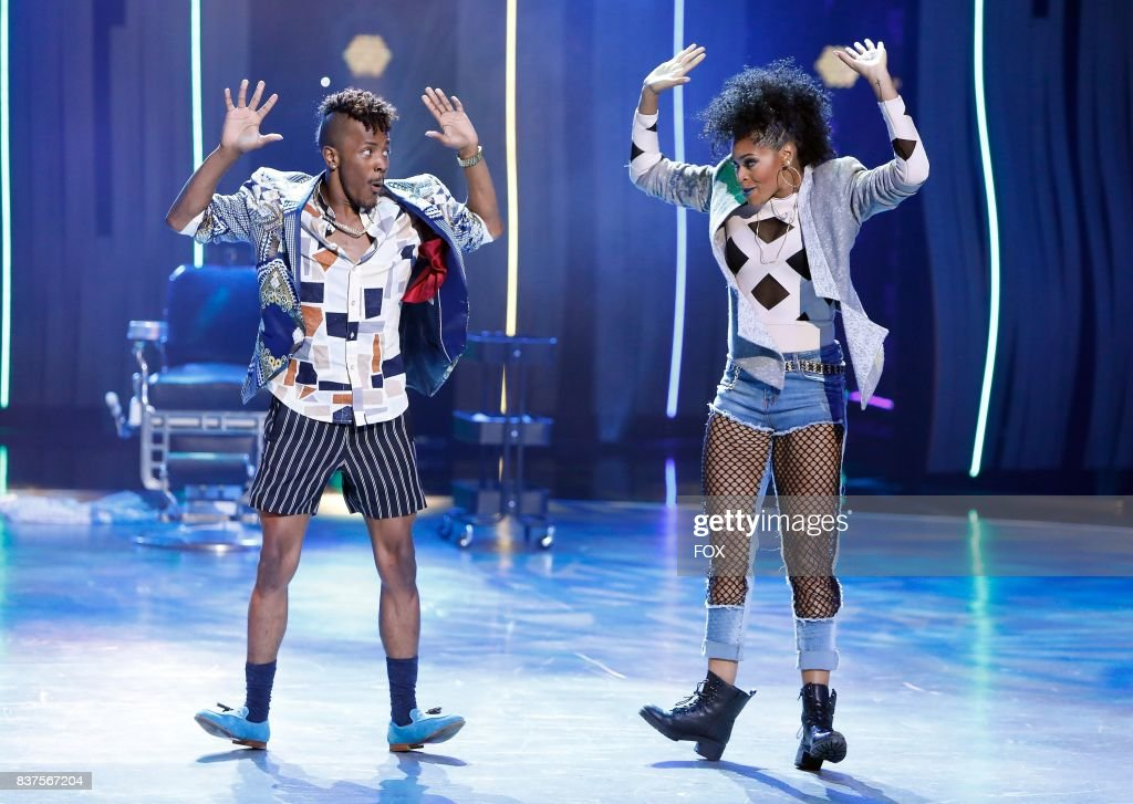Top 10 contestant Robert Green and all-star Jasmine Harper perform a Hip-Hop routine to Perm choreographed by Chris Scott on SO YOU THINK YOU CAN DANCE airing Monday, August 7 (8:00-10:00 PM ET live/PT tape-delayed) on FOX.