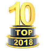Top 10 of the year 2018 (done in 3d rendering)
