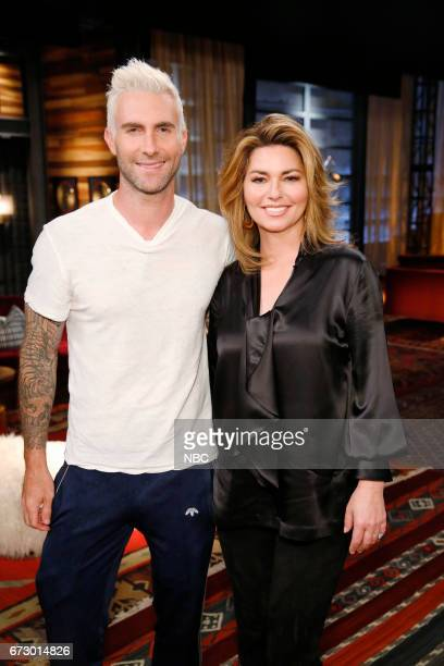 THE VOICE 'Top 12 Reality' Pictured Adam Levine Shania Twain