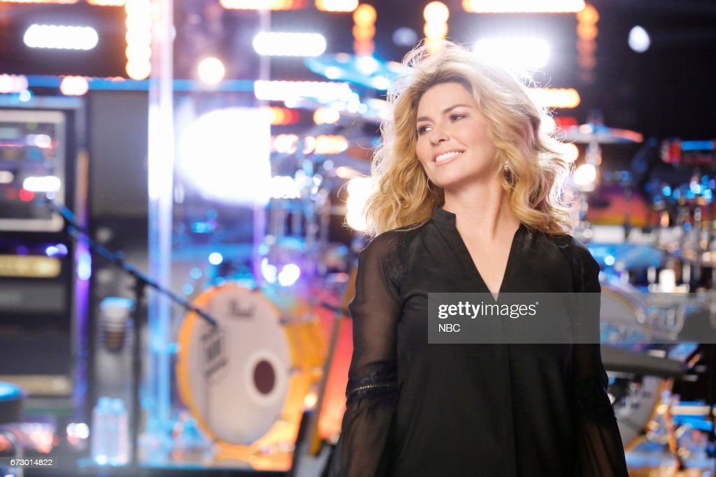 THE VOICE -- 'Top 12 Reality' -- Pictured: Shania Twain --