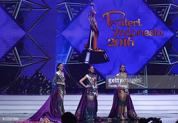 Top 3 of Miss Indonesia 2016 during coronation night After experiencing a long trip and passed a severe competition finally the beautiful Kezia...