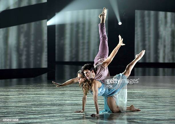 Top 4 contestant Gaby Diaz and allstar Robert Roldan perform a Contemporary routine to Angel choreographed by Mandy Moore on the Season Finale of SO...