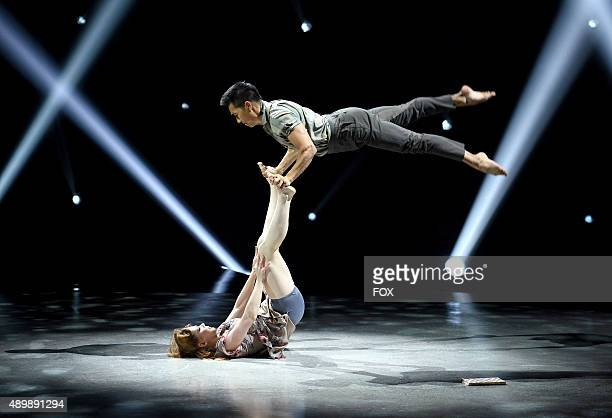 Top 6 contestant Jana JaJa Vankova and allstar Alex Wong perform a Contemporary routine choreographed by Tessandra Chavez on SO YOU THINK YOU CAN...