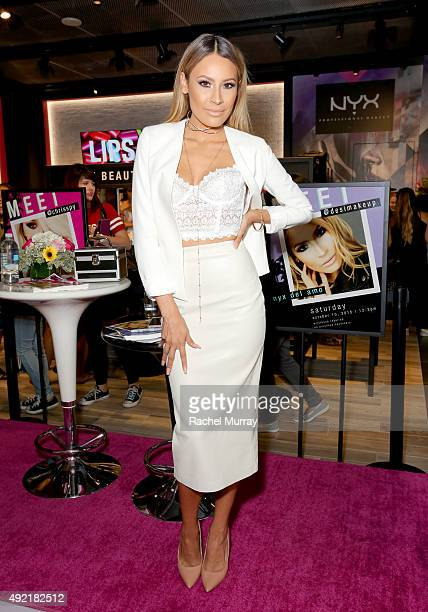 Top beauty influencer Desimakeup hosts a meet and greet for fans at the grand opening celebration of the NYX Cosmetics store in Del Amo Fashion...