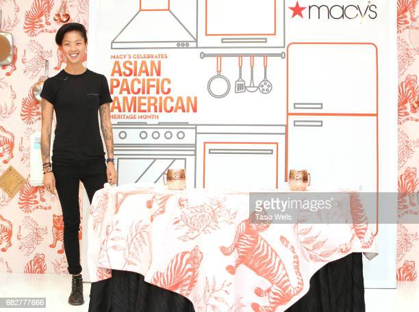 Top Chef winner Kristen Kish Visits Macy's at Macy's Plaza as part of Asian Pacific American Heritage Month at Macy's Downtown Los Angeles on May 13...