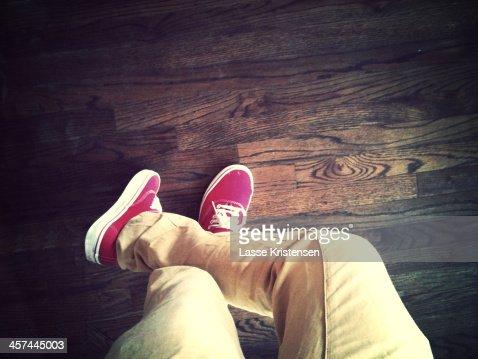 Top down leg view