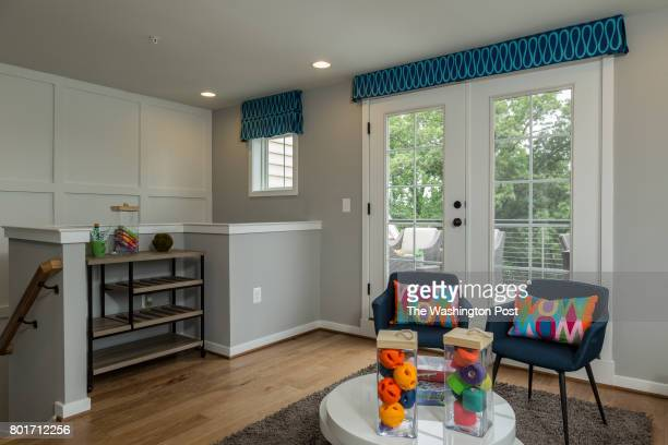 Top floor Loft of The Oakley Model Home by Winchester Homes at Glenmont Metro Center on June 16 2017 in Silver Spring Maryland
