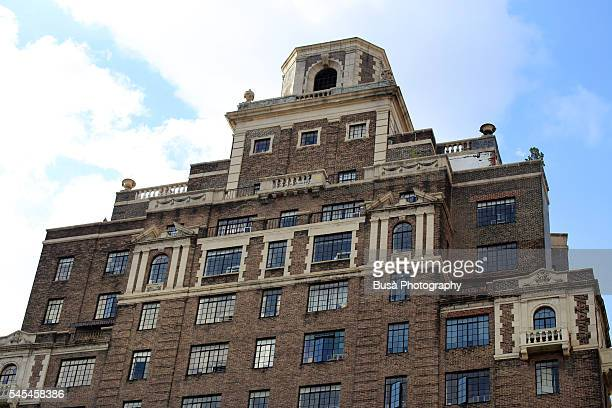 Top floors of luxury residential tower in the West Village, New York City