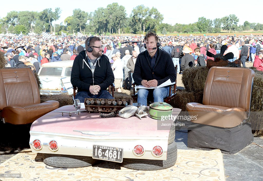 Top gear host rutledge wood l and tv personality brian unger speak