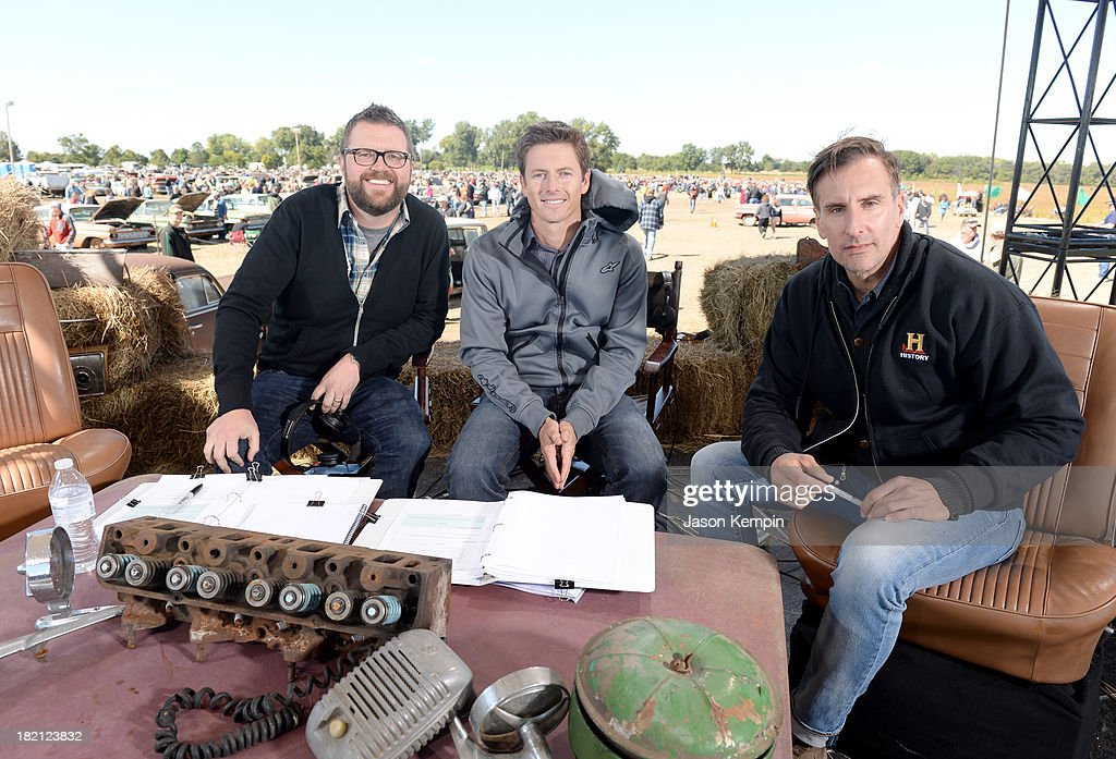 Top gear hosts rutledge wood tanner foust and tv personality brian