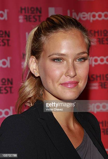 Top model Bar Refaeli attends the Liverpool Fashion Fest Autumn/Winter 2010 after party at Liverpool Polanco on August 27 2010 in Mexico City Mexico